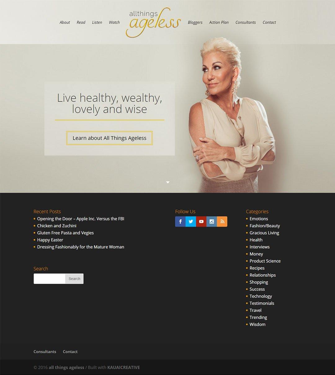 piercebivens.com website
